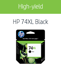 HP-74XL-Black