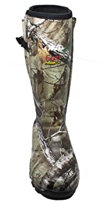 tall wellies mid calf camo camouflage tree stand big game hunting farm boots slip resistant nonslip