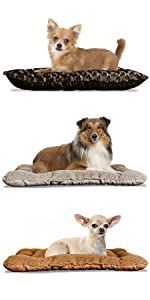furhaven; dog; cat; pet; bed; tufted; pillow; crate; bed