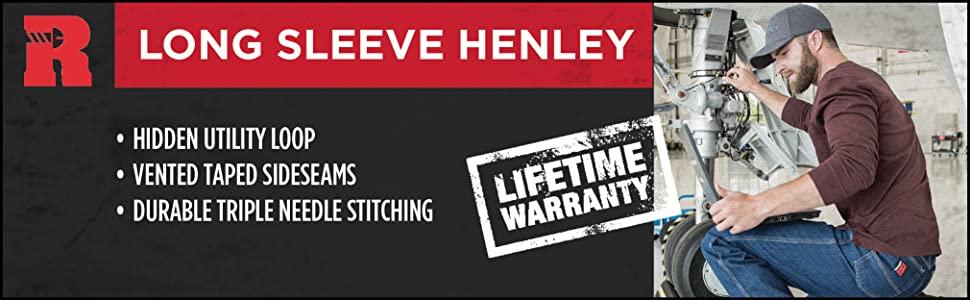 RIGGS Long Sleeve Henley