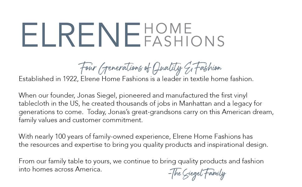 elrene home fashions company history