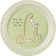 baby gift; feeding set; toddler plate; kids plate; kids dinnerware; kids dinner set; giraffe; baby
