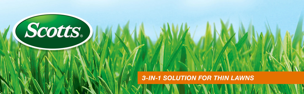 Scotts 3-IN-1 Solution for thin Lawns