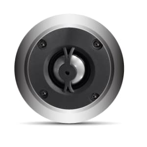 "Utilizing a 1"" titanium dome tweeter and a 5.25 polypropylene _ mica woofer"