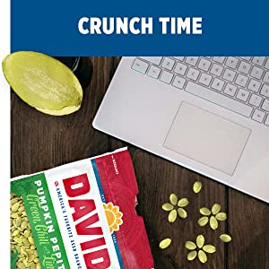 Davids pepita seeds and sunflower kernels make great study snacks and office snacks