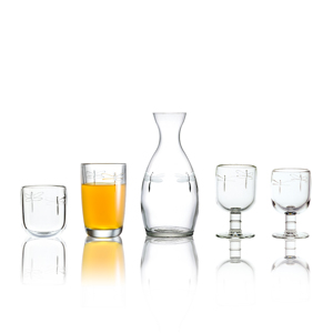 La Rochere Dragonfly Glass ware collection