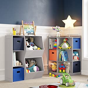 toy storage playroom