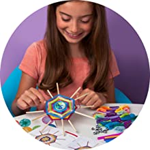 personality quiz questions woven wall hanging kit craft kids easy craft ages 6 7 8 9 10 11 12 teen