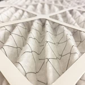 air filter pleat