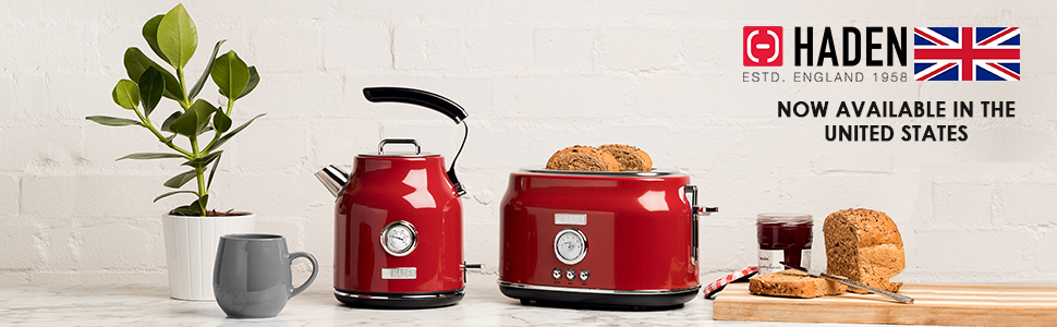 Haden Electric Toasters and Kettles