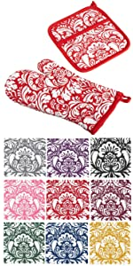 pot holders,oven mitts,pot holders and oven mitts,heat resistant,pot holders and oven mitts set