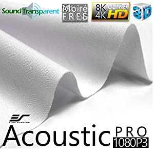 acousticpro 1080p3; acoustically transparent; sound; 1080P; 4K UHD; screen material; cloth; fabric
