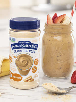 simple peanut butter powder