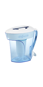 ZeroWater Water Filter Pitcher 10 Cups