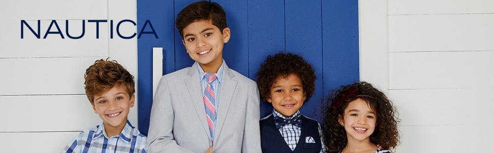boys tee boy tees t-shirt Nautica t t-shirt's short sleeve graphic kid kids black white navy grey
