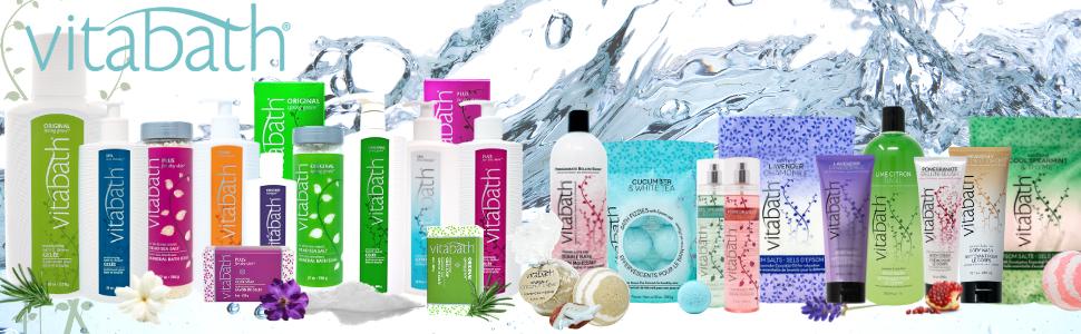 Vitabath Collection Bath Cream wash Body