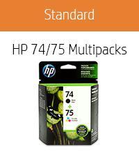 HP 74/75 Multipacks