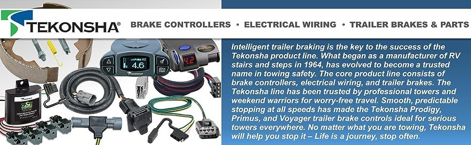 Tekonsha Brake Control Controllers Controls Vehicle Trailer Wiring Brake Brakes
