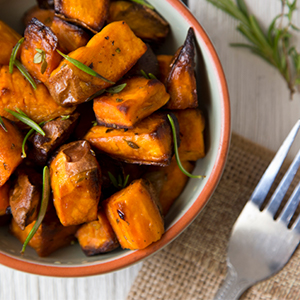 Roasted Sweet Potato Recipe BetterBody Foods Refined Organic Coconut Oil