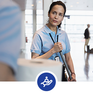 Tork helps improve the well-being of guests and staff.