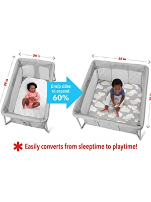 Playard, Travel Crib, Playpen, Pack and Play, Packnplay