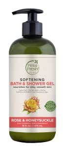 Petal Fresh, Bath & Shower Gel, Natural Beauty, Natural Ingredients, Cleansing Gel, Softening, Rose
