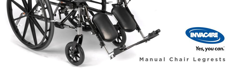 Manual Chair Legrests