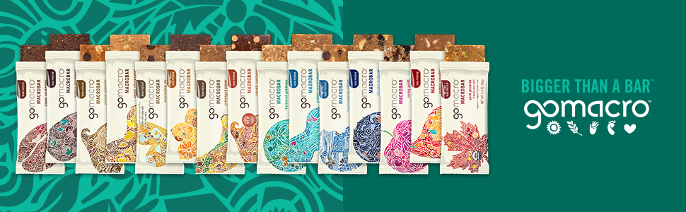 protein bars from gomacro
