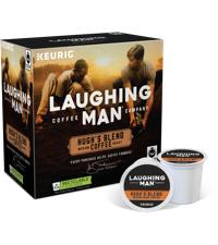 hugh jackman coffee hugh jackman k cup hugh jackman laughing man keurig k cup laughing man laughing