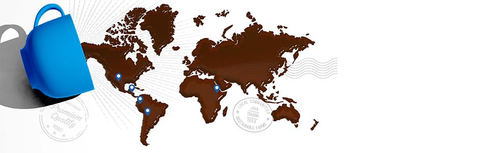 map java trading coffee mug we discover you enjoy travel sourcing world sustainability