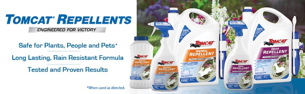 Tomcat Repellents