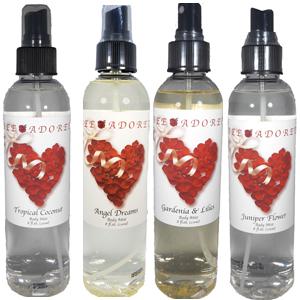 body spray, body mist, cologne, room deodorizer, perfume, shower mist