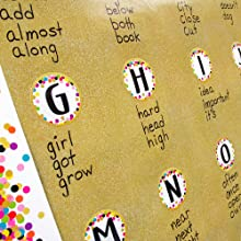 gold shimmer Better Than Paper Word Wall Write-on Wipe-off