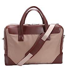 Nylon leather briefcase