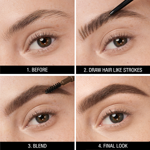 how to use maybelline eyebrow pencil