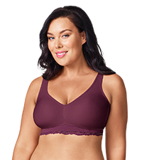 GQ3381A, olga bras, wire-free plus size bras, comfort bras, best bras