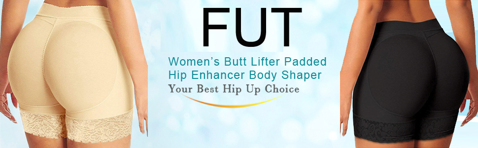 Womens Seamless Butt Lifter Padded Lace Panties Enhancer Underwear