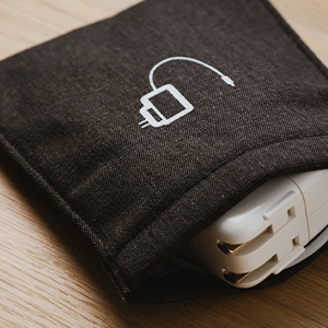 Earphone case, earbud holder, earbud case, charger case, charger cases, travel case