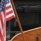 Teak Flag Pole