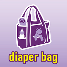 Great for diaper bags