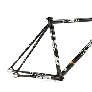 cinelli, cinelli track steel, steel, frameset, bicycle, fixed gear, track bicycle, freewheel,