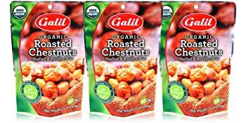 Galil USDA Organic Roasted Chestnuts - Shelled & Ready to Eat BULK