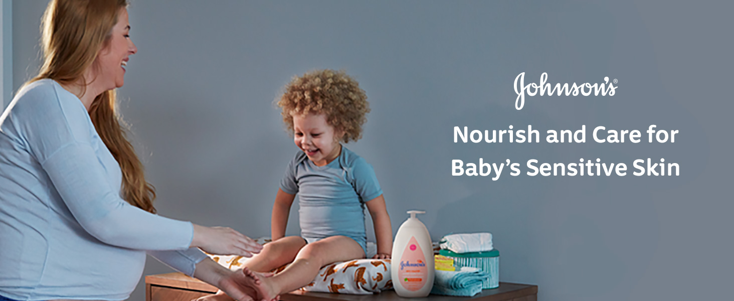Johnson's Baby - Nourish and care for baby's sensitive skin