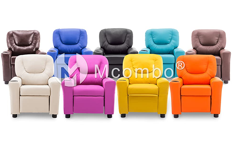 mcombo kids recliner chair sofa