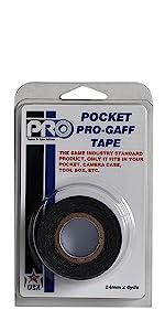 Pro Pocket Gaff 48mmx5.4m Black Retail