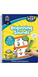 Power Pen Learning Book, Beginning Sounds