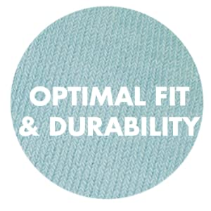 optimal fit and durability