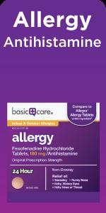 allergy fexofenadine hydrochloride