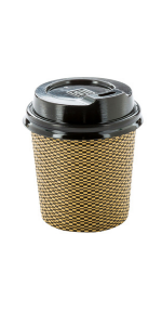 Reduce your waste by choosing insulated coffee cups that eliminate the need for coffee sleeves.