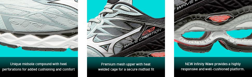 best running shoes, cushioned, mizuno wave, light running shoes, asics, nike, brooks